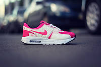 Женские кроссовки Nike Air Max Zero, pink+white, розовые с белым, размеры 37, 38, 39, 40