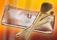 """Набор кистей для макияжа в косметичке """"Ungaro"""" 02233"""