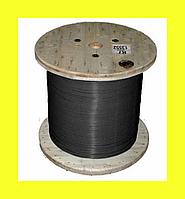 Кабель Nexans (Норвегия) нагревательный одножильный отрезной TXLP 1,0 Ohm/m BLACK (DRUM)