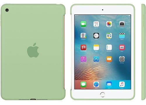 """Мятный силиконовый чехол для девушек 7.9"""" Apple iPad mini 4 Mint MMJY2ZM/A"""