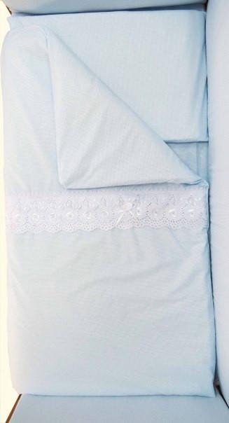 Подушка и одеяло комплекта «Ажурный»
