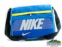 Модная сумка на плечо Niкe синяя