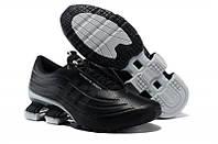 Мужские кроссовки Adidas Х Porsche Design Sport Bounce S4 (адидас порше десижн) серо-черные