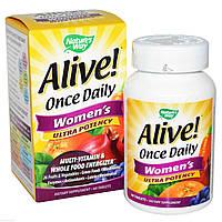 Витамины для женщин Жизненная Активность, Nature's Way, 60 таблеток