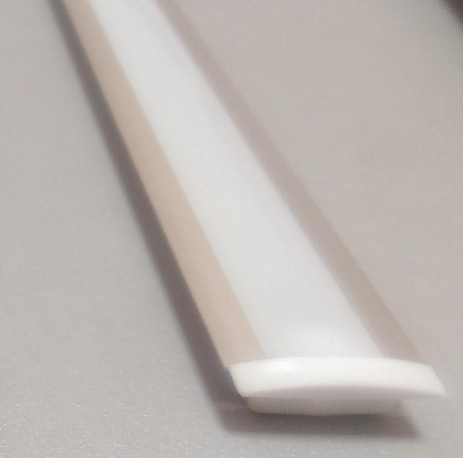 Профіль алюмінієвий для світлодіодної стрічки або світлодіодним лінійки 1 і 2 м врізний