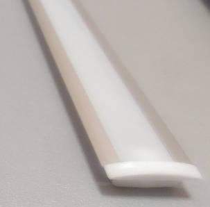 Профиль алюминиевый для светодиодной ленты или светодиодной линейки 1 и 2 м врезной