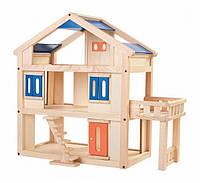 """Деревянная игрушка """"Кукольный домик с террасой"""", PlanToys"""