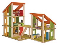 """Деревянная игрушка """"Кукольный домик Шале с мебелью"""", PlanToys"""
