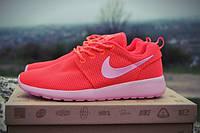 "Женские кроссовки Nike Roshe Run ""Rose"", розовые, размер 36, 37, 38, 39"