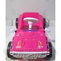 Машинка детская педальная Орион 792 Розовая
