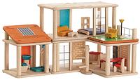 """Деревянная игрушка """"Кукольный домик-конструктор"""", Plan Toys"""