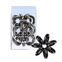 Резинка для волос Invisibobble NANO True Black