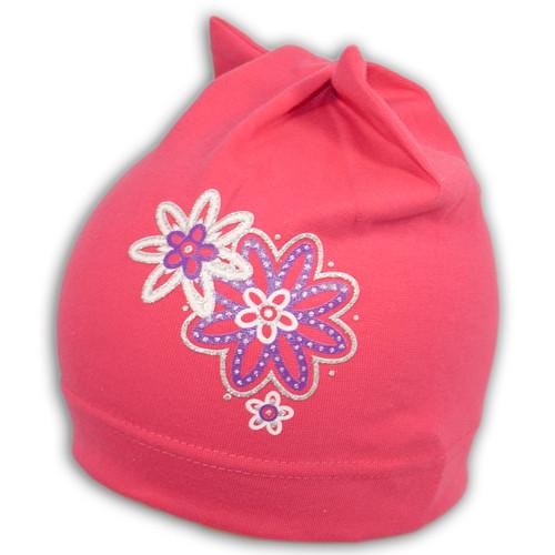Трикотажная шапка с принтом