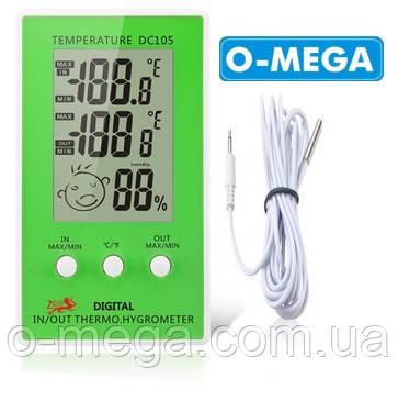 Гигрометр термометр для инкубатора с выносным датчиком температуры