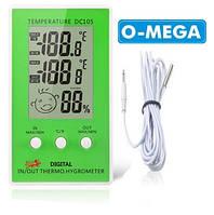 Гигрометр термометр для инкубатора с выносным датчиком температуры, фото 1
