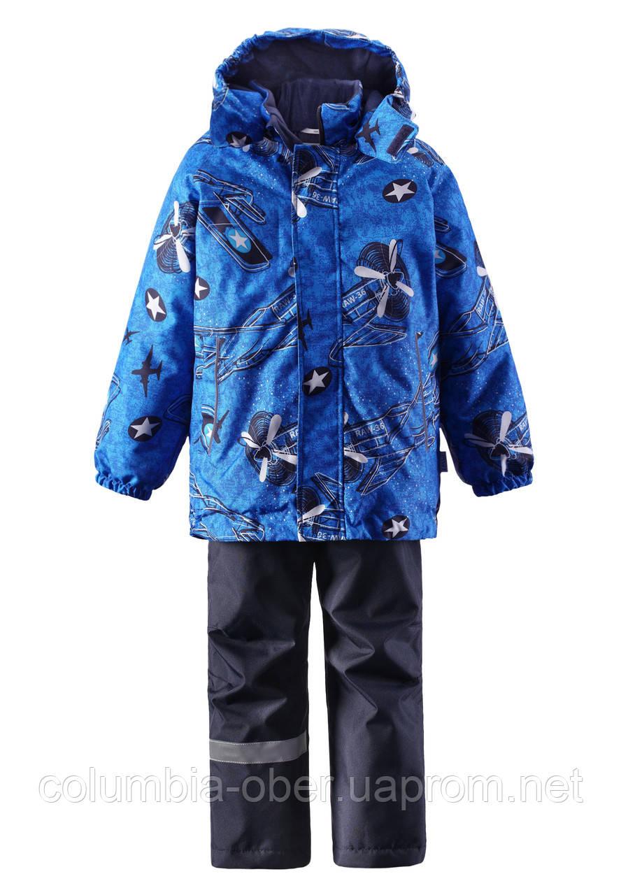 Зимний комплект для мальчика Lassie by Reima 723695 - 6511. Размеры 104 - 140.