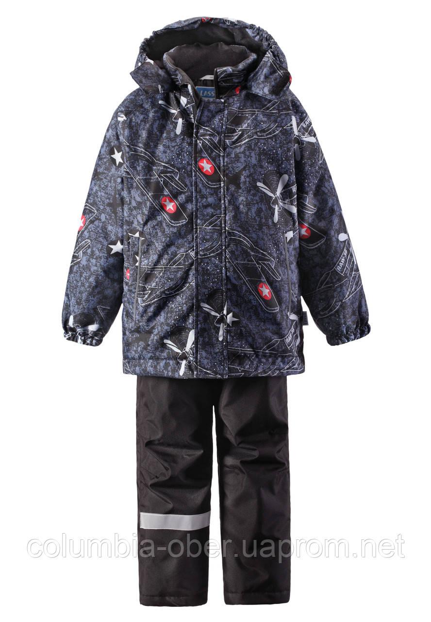 Зимний комплект для мальчика Lassie by Reima 723695 - 6741. Размеры 104 и 128.