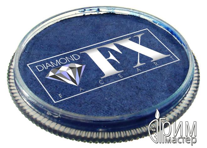 Аквагрим DiamondFX металлик синий, фото 2