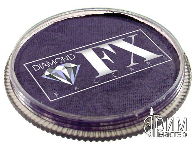 Аквагрим DiamondFX металлик фиолетовый, фото 2