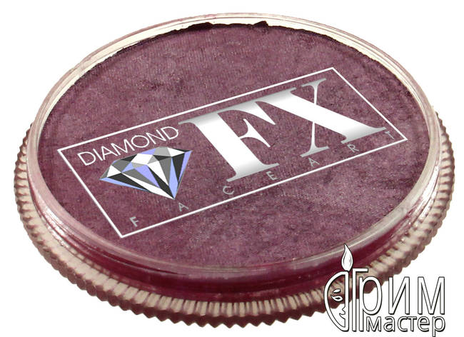 Аквагрим Diamond FX металлик вино, фото 2