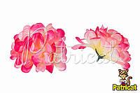 Цветы Хризантемы Розовые из ткани 10 см 1 шт