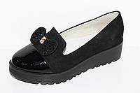 Модные туфли для девочек на платформе от фирмы Башили G25-6 (31-36)
