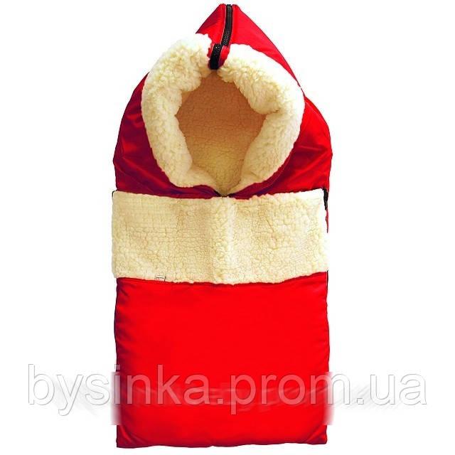 Зимний Конверт на овчине - самая нужная приобретение для новорожденного малыша.