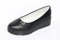 Модная детская обувь. Туфли для девочек на платформе от фирмы Башили G25-14 (31-36)
