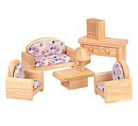 """Деревянная игрушка """"Гостиная-классическая"""", PlanToys"""