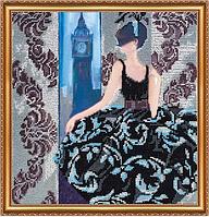 Набор для вышивания бисером Окно в Лондон AB-275