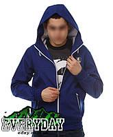 Мужская синяя ветровка Ястребь есть опт, фото 1