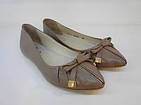 Туфли-балетки женские Etor