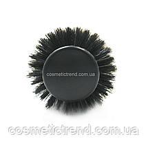 Щетка-брашинг для волос средняя керамическая с натуральной щетиной (со спицей) 2Q693CCM Salon Professional, фото 2