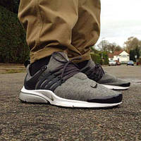 Кроссовки мужские Nike Presto серые найк престо, фото 1