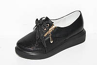 Модные туфли на девочек на платформе от фирмы Башили G27-1 (31-36)