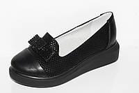 Модная детская обувь. Туфли для девочек на платформе от фирмы Башили G27-14 (31-36)