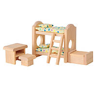 """Деревянная игрушка """"Детская спальня-классическая"""", PlanToys"""