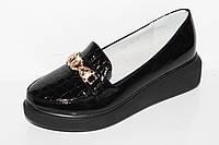 Модная детская обувь. Туфли для девочек на платформе от фирмы Башили G27-12 (31-36)