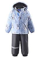 Детские зимние костюмы для мальчиков Lassie by Reima 713694 - 6111. Размер 74 - 98.