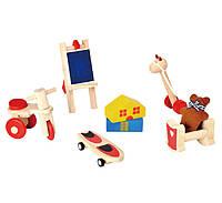 """Деревянная игрушка """"Набор игрушек для кукол"""", PlanToys"""