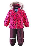 Детский зимний костюм для девочек Lassie by Reima 713695A - 3521 . Размер 74 - 98.