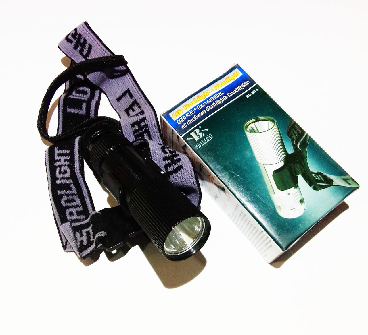 Налобный-ручной фонарь BL 30+