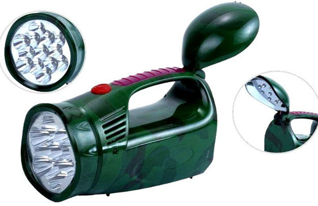 Фонарь светодиодный аккумуляторный YJ-2809