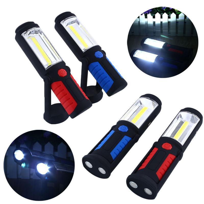 Лампа-фонарь с магнитом 36+5 COB