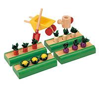 """Деревянная игрушка """"Огород"""", PlanToys"""