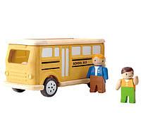 Школьный автобус Plan Тoys, фото 1