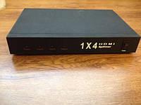 1х4HDMI Splitter HSP0104 Распределитель-усилитель