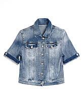 Джинсовая куртка с коротким рукавом RePlus 5187