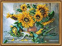 Набор для вышивания бисером Цветы солнца AB-266