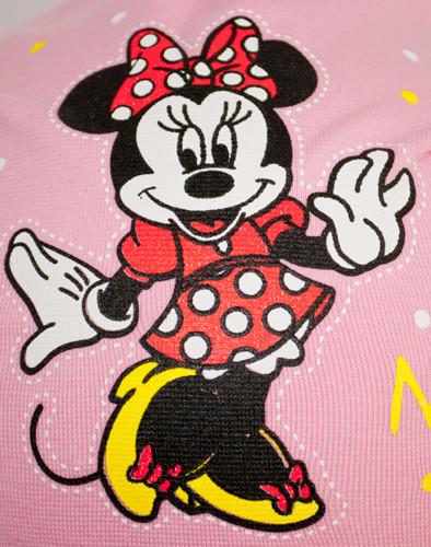Принт Minnie на трикотажной шапке